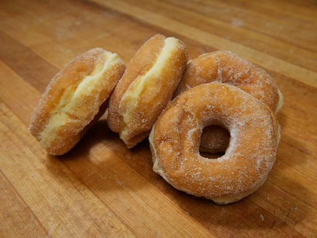 Yeast-Raised Doughnuts Recipe — Dishmaps