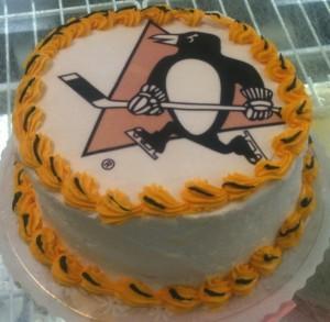 Penguin 7 Cake