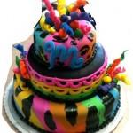 Tye Daye Cake Snipped